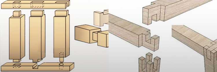 Технология шип-паз при соединение древесины