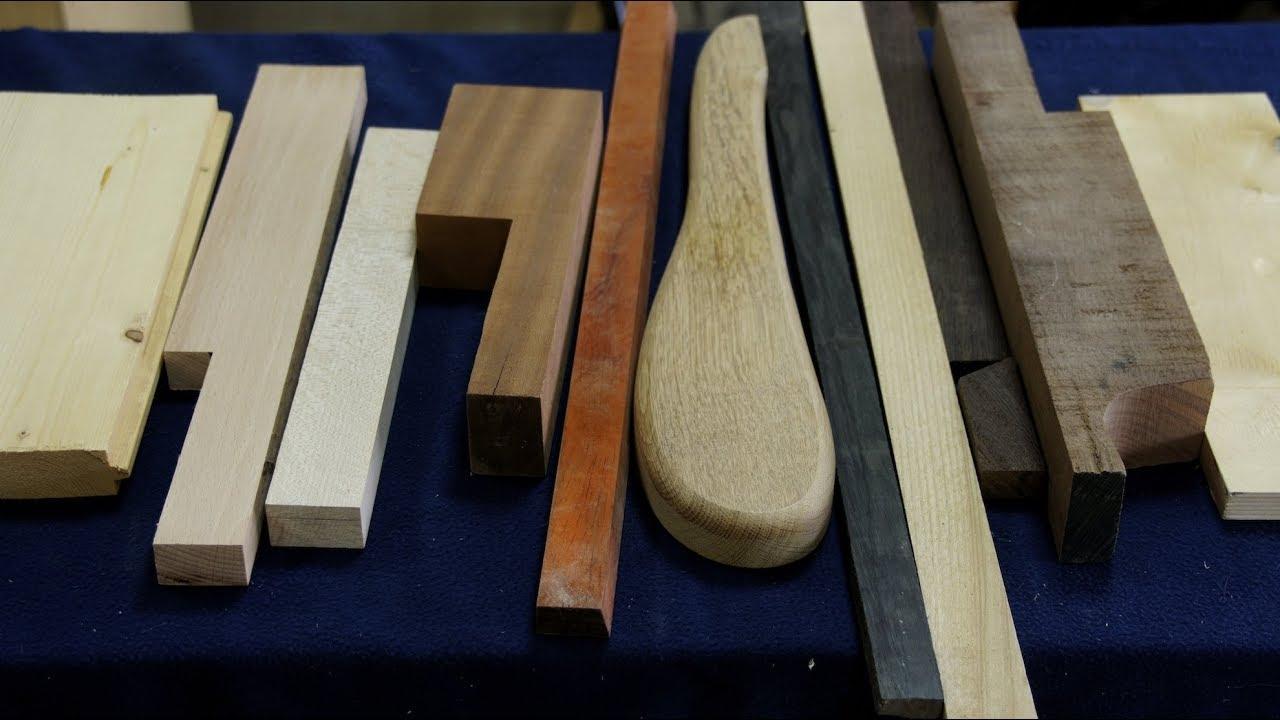Различные породы ценной древесины.