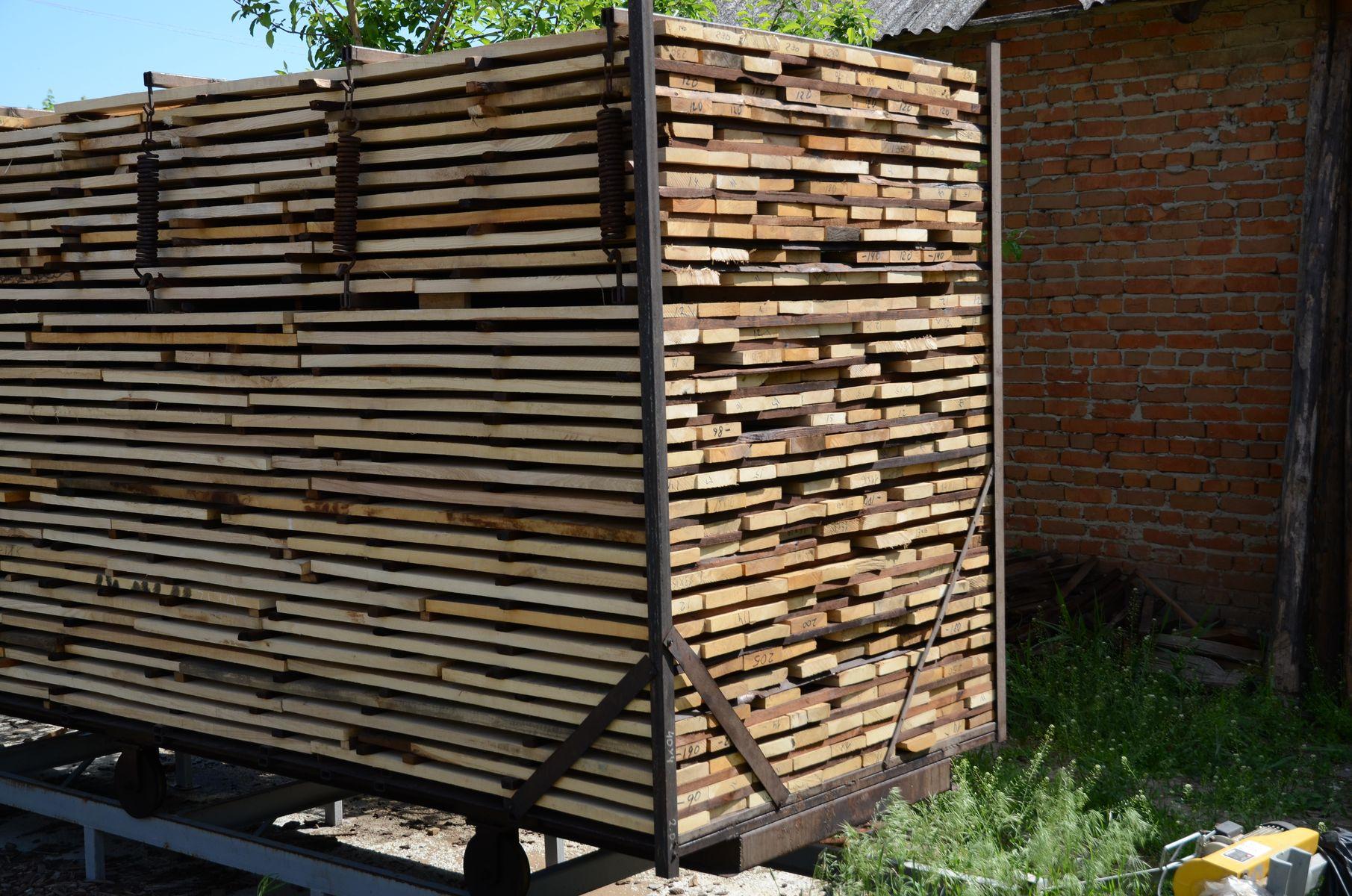 Производство термомодифицированной древесины.