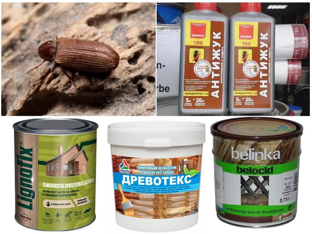 Антисептики-инсектициды или «Антижук».