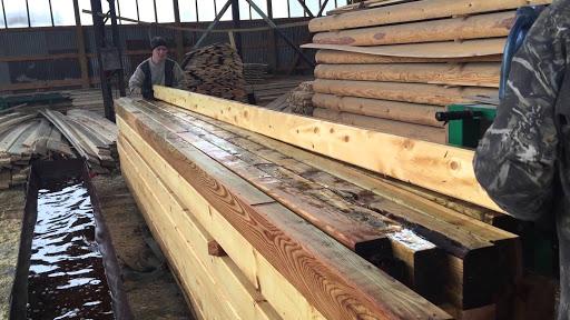 Обработка дерева в промышленных объемах.
